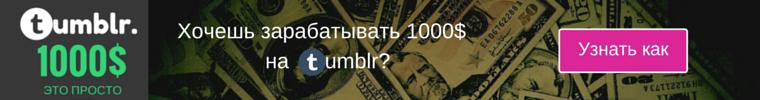 1000$ Tumblr Rush