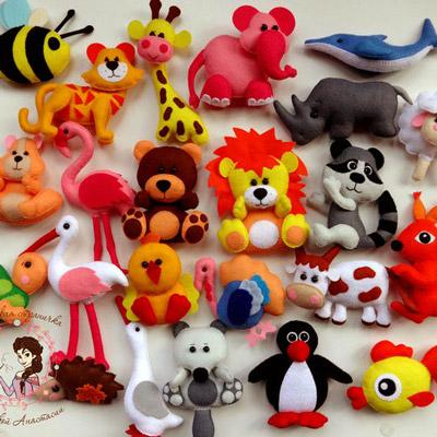 Онлайн-курс по пошиву игрушек «Веселая Африка»