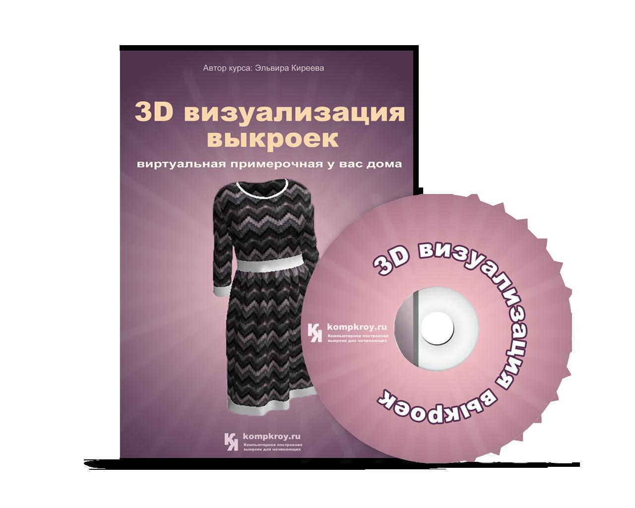 3D визуализация выкроек