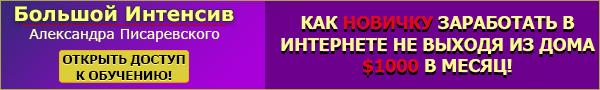 «Большой Интенсив»Александра Писаревского