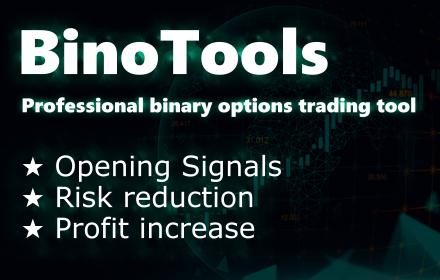 BinoTools Widget - Индикатор и автоматизация торговли бинарными опционами