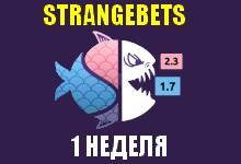 StrangeBets (1 неделя)