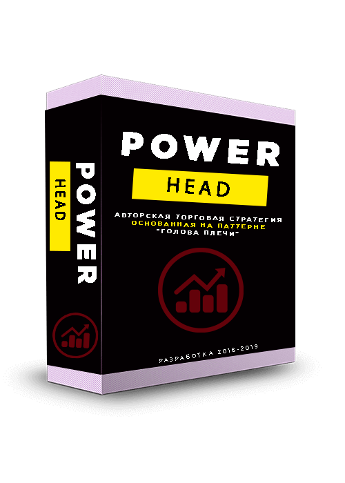 """Торговая стратегия """"POWER HEAD"""" для автоматического выявления точек разворота на валютном рынке."""