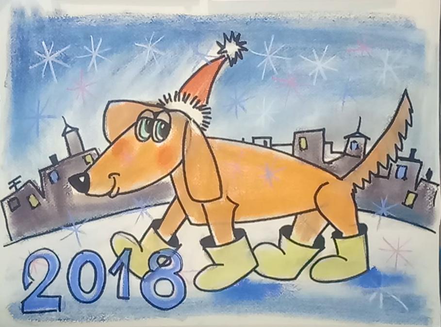 Онлайн видео-уроки рисования для детей. Новогодние и Рождественские открытки и рисунки.