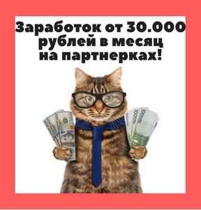 30.000 рублей на Партнерках