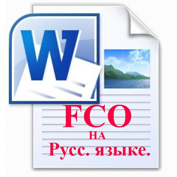 Готовая форма безотзывного предложения Full Corporative Offer (FCO) на Русском языке