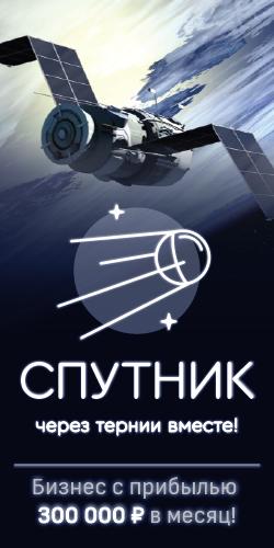 Спутник - Готовая система получения прибыли